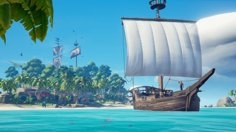 Sea of thieves arrive sur Steam